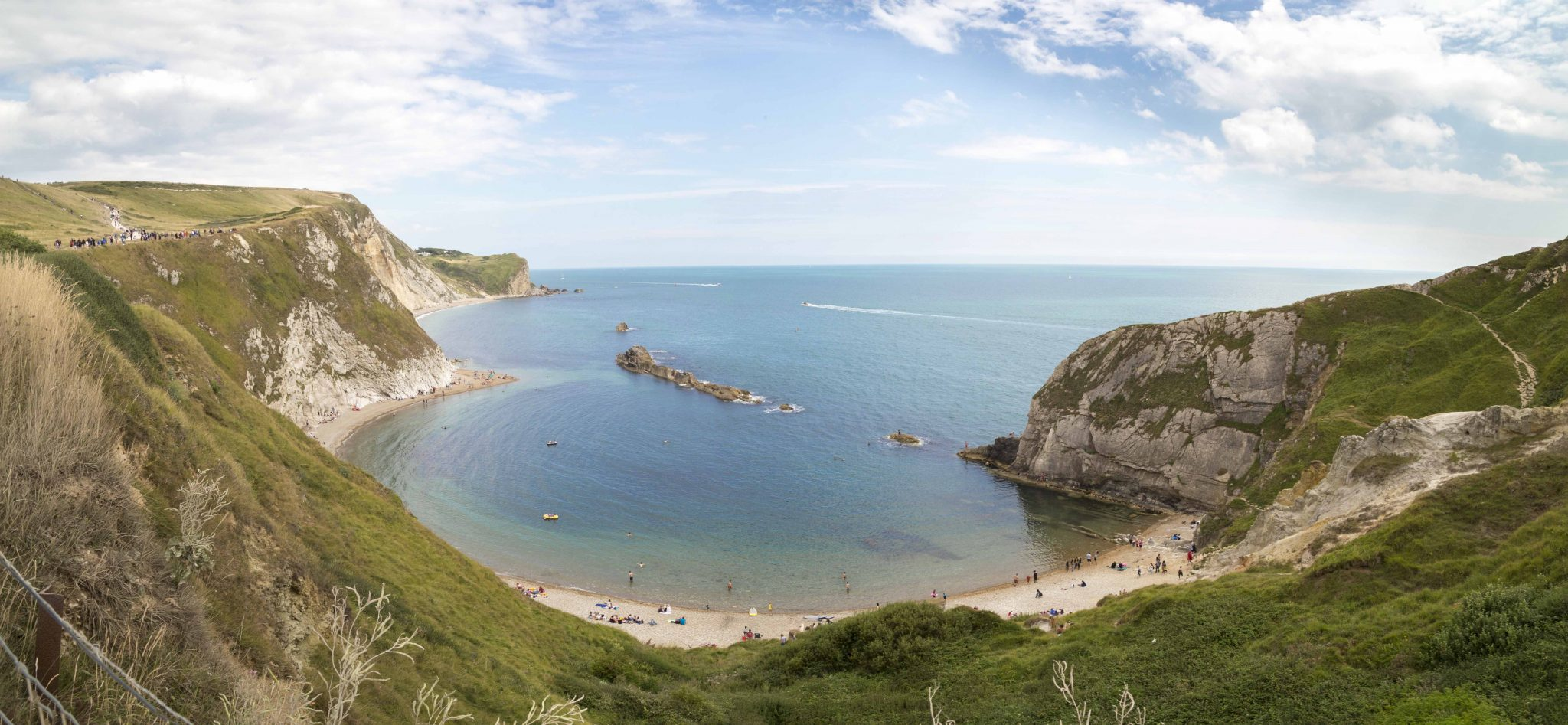 Man O War Cove panorama